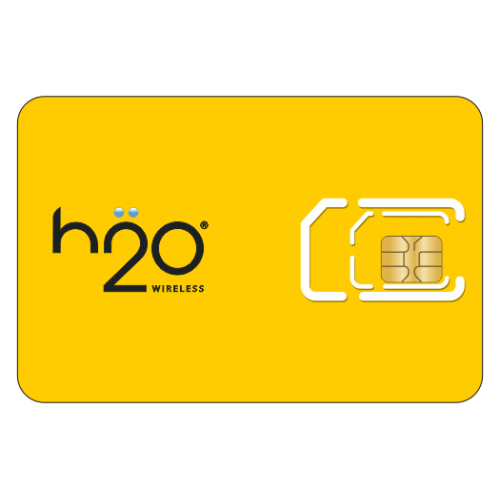 H2O Sim Card + Activation